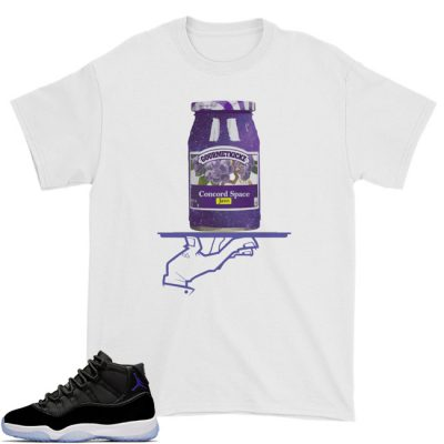 Space Jam 11 Match T-Shirt | Now Serving Space Jam White