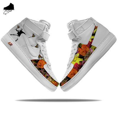 Custom Nike Air Force 1 Hi 'Flowerbomb'