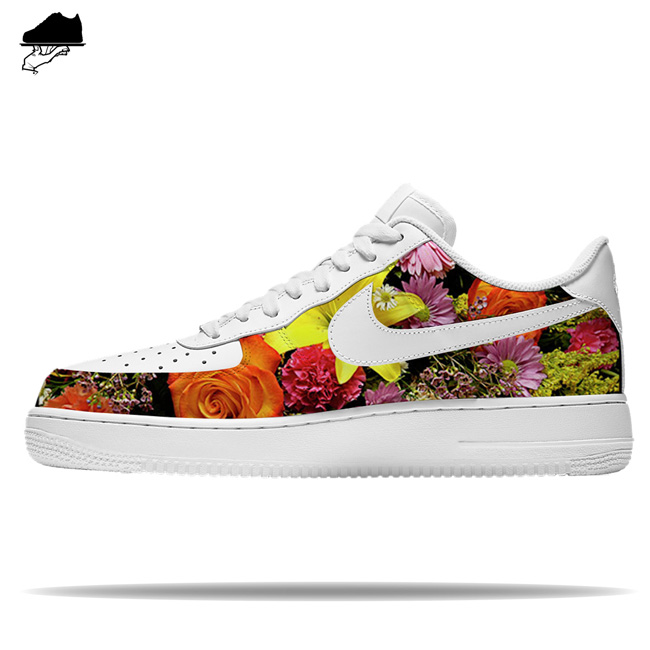 custom nike air force 1 flowerbomb is pure fire af1