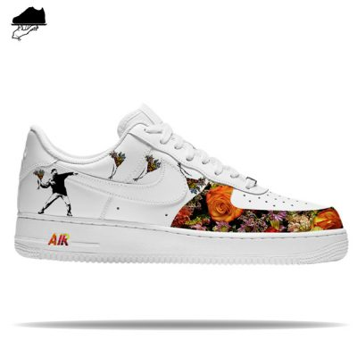 Custom Nike Air Force 1 'Flowerbomb'