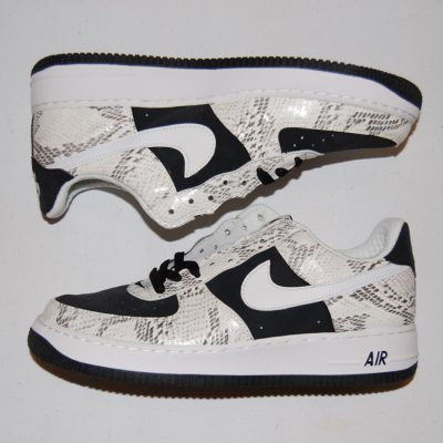 "Nike Air Force 1 Premium Snake ""Un-Cocoa"" 312945-011 Size 10"