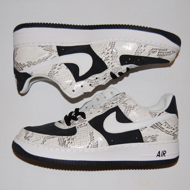 """Nike Air Force 1 Premium Snake """"Un-Cocoa"""" 312945-011 Size 10"""