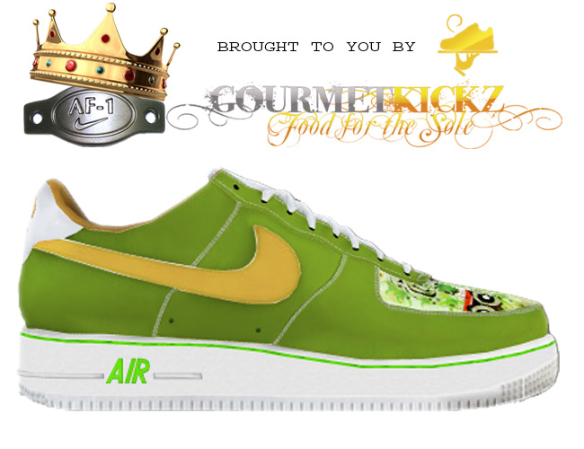 "Custom ""Animal Kingdom"" Nike Air Force 1 via GourmetKickzCreator"