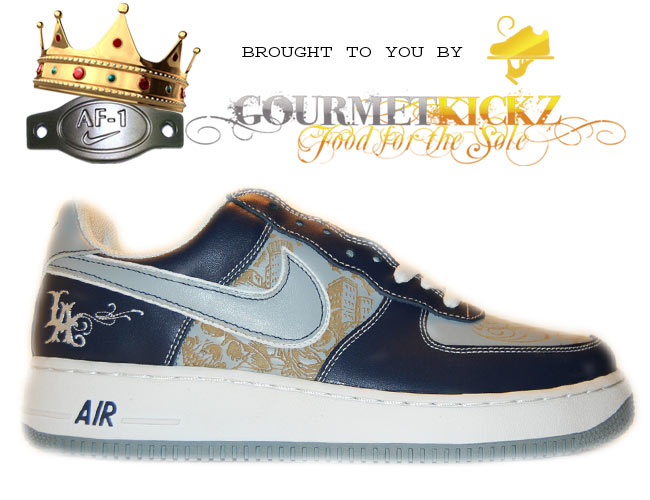 Nike Air Force 1 LA '03 Mr. Cartoon Blue Tattoo | 312234-401