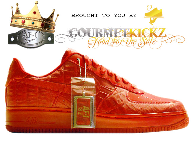 "Nike Air Force 1 Supreme I/O | ""Mad Hectic"" 