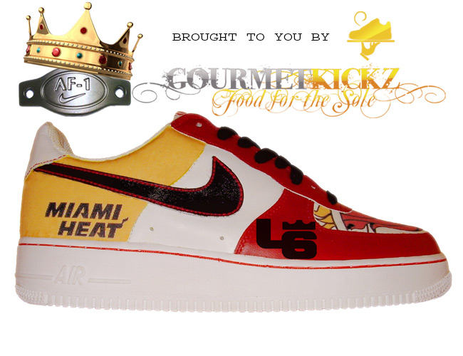 lebron james miami heat. Custom Miami Heat Lebron James