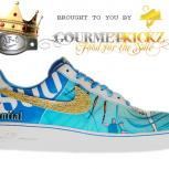 Custom Bachrach Air Force 1 by GourmetKickz x 1800 Tequila