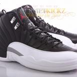 Nike Air Jordan 12 (XII) Playoff 2012 | Black / White Varsity Red | 136001-016
