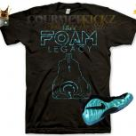 Electric Blue &quot;Foam Legacy&quot; Foamposite T-Shirt by Chef of GourmetKickz
