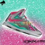 Custom LeBron X (10) &quot;MVP in South Beach&quot; by GourmetKickz