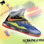 Custom LeBron X (10) &quot;Nerf&quot; by GourmetKickz