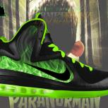 Custom LeBron 9 &quot;ParaNorman&quot; Foamposite by GourmetKickz