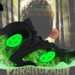 Custom Zoom Rookie &quot;ParaNorman&quot; Foamposite aka &quot;ZzzZzzoom Spooky&quot; by GourmetKickz