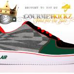 Custom SunForce Gucci Denim VT Nike Air Force 1 by GourmetKickz
