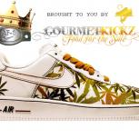 Custom &quot;Get Lifted&quot; Nike Air Force 1 by GourmetKickz