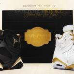 Nike Air Jordan 6 + 7 (VI &amp; VII) &quot;Gold Medal&quot; | &quot;Golden Moments&quot; Pack 2012 Release 
