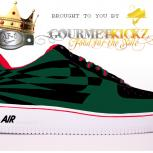 Custom SunForce Gucci Nike Air Force 1 by GourmetKickz