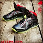 Custom LeBron X (10) Solar Red Air Yeezy II Inspired | &quot;MasToChef Homme Project&quot;