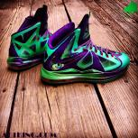 Custom 1 of 1 LeBron X | You and Chef collaborate on a design | Everything Included