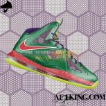 Custom LeBron X (10) &quot;Jokers&quot; by GourmetKickz
