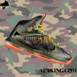 Custom LeBron X (10) Camo &quot;The King&#039;s Army&quot; by GourmetKicks