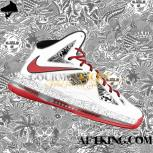 Custom LeBron X (10) FreeGums Insideout by GourmetKickz