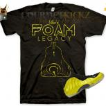 ElectroLime &quot;Foam Legacy&quot; Foamposite One T-Shirt by Chef of GourmetKickz