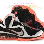 Nike LeBron 9 &quot;Mango&quot; | Metallic Silver/Metallic Silver-Bright Mango