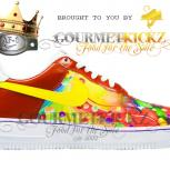 Custom GourmetKickz Skittles Nike AF1 Low