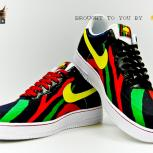 Custom &quot;Tribe Called Quest&quot; | &quot;Midnight Marauders&quot; Nike Air Force 1 Low by GourmetKickz 