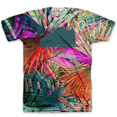 The 305 aka Miami Beach All Over Print Logo T-Shirt by GourmetKickz