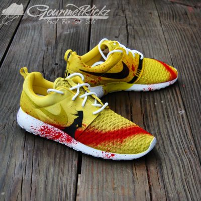 Custom Kill Bill II Roshe Run by GourmetKickz