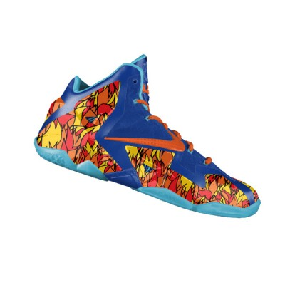 "Custom ""Inside Out China"" LeBron XI (11) by GourmetKickz"