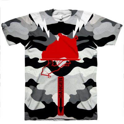 Signature Master-Pilot All Over Print T-Shirt | Fighter Pilot Foamposite Hook-up Tee