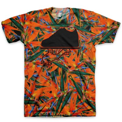 The Bird of Paradise All Over Print Logo T-Shirt by GourmetKickz