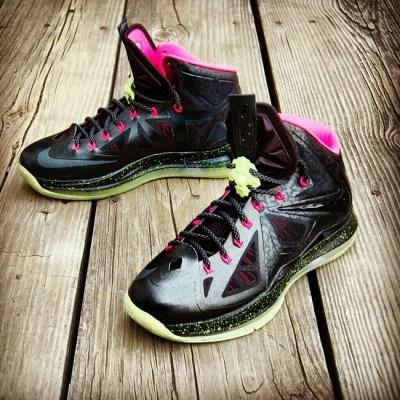 "Custom LeBron X (10) Blink Air Yeezy Inspired | ""MasToChef Homme Project"""