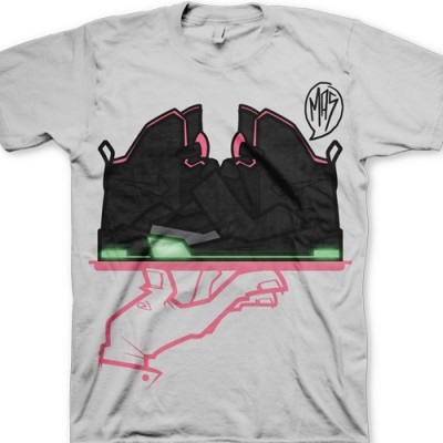 Signature GourmetKickz Now Serving A MAS-T-Piece Black/Pink Air Yeezy T-Shirt