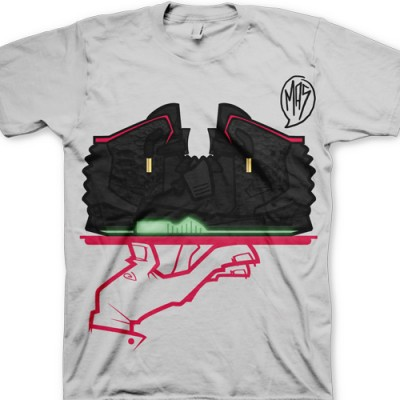Signature GourmetKickz Now Serving A MAS-T-Piece Black Air Yeezy 2 T-Shirt