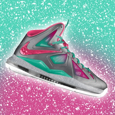 "Custom LeBron X (10) ""MVP in South Beach"" by GourmetKickz"