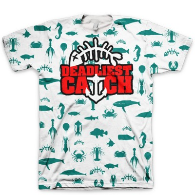Gone Fishing Foamposite Shirt | Deadliest Catch V4