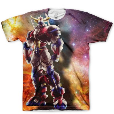 The Goldorak Galaxy All Over Print Shirt | Pacific Rim Inspired | by GourmetKickz Robots Rule