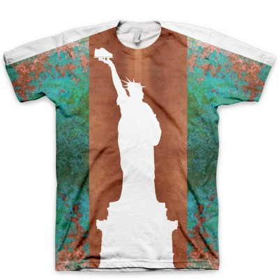 Statue Of Liberty AF1 Shirt V1 by GourmetKickz