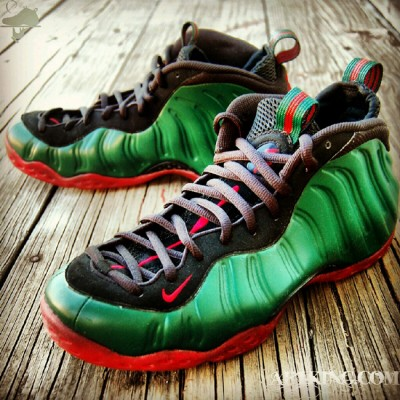 "Custom ""Gucci"" Foamposite One by GourmetKickz"