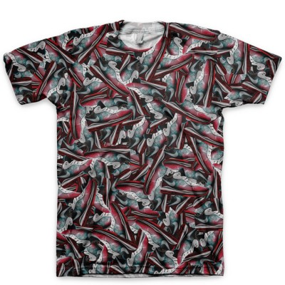 The Miami Nights Feast LeBron 8 v2 Low All Over Print T-Shirt by GourmetKickz