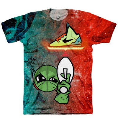 Area 72 Shirt | All Over Print Tee | Signature Kitchen Invasion T-Shirt for KD V