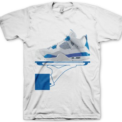 "Signature GourmetKickz ""Deluxe Now Serving"" Military IV (4) Jordans T-Shirt"