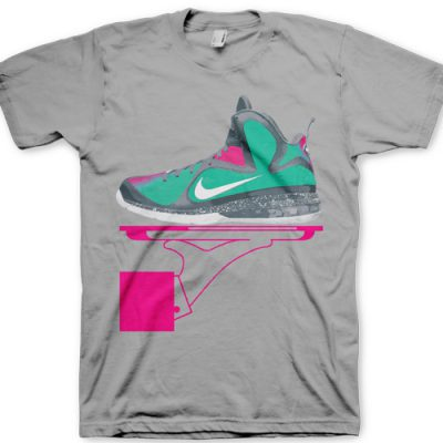 "Signature GourmetKickz ""Deluxe Now Serving"" MVP In South Beach T-Shirt"