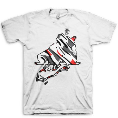 Signature Now Serving Jordan 8 Bugs Bunny Logo Silhouette Shirt