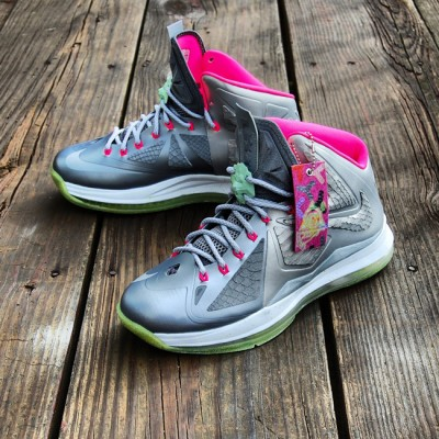 "Custom LeBron X (10) Platinum Air Yeezy II Inspired | ""MasToChef Homme Project"""