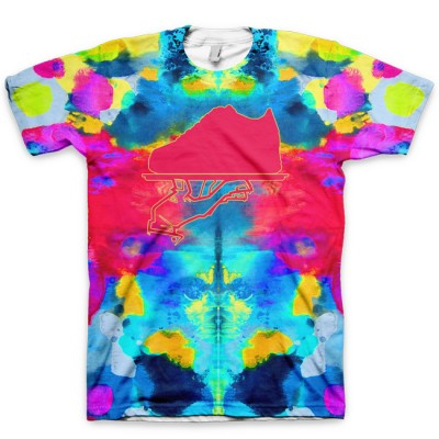 The Colorful Asylum All Over Print Logo T-Shirt by GourmetKickz